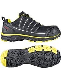Toe Guard tg8051042 Sprinter Scarpe di sicurezza S3 ESD SRC Taglia 42  Nero Limone Verde 2383a0f6349