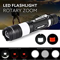 MuSheng(TM) G700 X800 5000LM Tactical Zoomable XML T6 LED Military Flashlight Torch Light Lamp