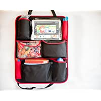 My Milestones Foldable Baby Car travel Organizer - Black