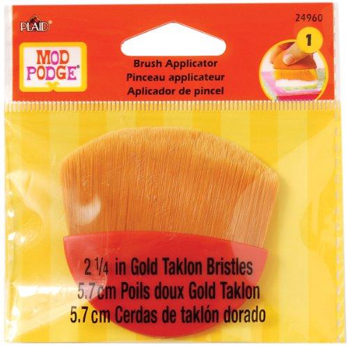 mod-podge-21-4-de-pulgada-oro-taklon-cepillo-multicolor