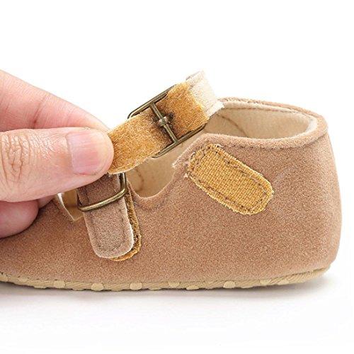 Sapatilhas Macia Cáqui 1paar Igemy Babyschuhe nascido Recém Rapariga Berço Sapatos Sola 8wzaq7w