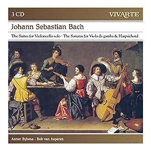 Bach: The Suites For Violoncello Solo; Sonatas For Viola Da Gamba & Harpsichord
