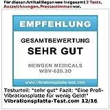 newgen medicals 3D-Vibrationsplatte WBV-620.3D mit 2 Modi, Expandern & Fernbedienung - 6