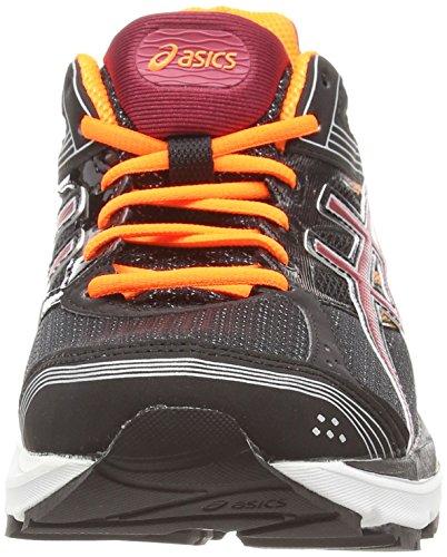 Asics Gel-pulse 7, Chaussures de Running Entrainement Homme Noir (black/deep ruby/hot orange 9026)