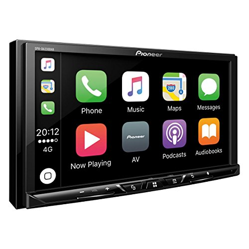 2DINAutoradio | 7 Zoll Clear-Resistive-Touchpanel |  Bluetooth | DAB+ Digitalradio | Apple CarPlay / Android Auto ()