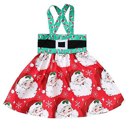 POLP Niño Regalo Navidad Bebe Pijama Rojo Navidad