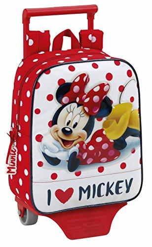 Imagen de minnie mouse   guardería con ruedas trolley 22x10x27cm 611748280