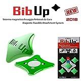 BIBUP 3.0 -- De puissants aimants pour le sport, running, cycling (GREEN FLUO, MATTE)