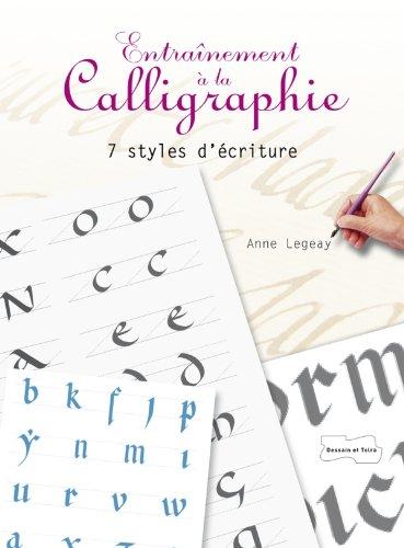 Entranement  la calligraphie