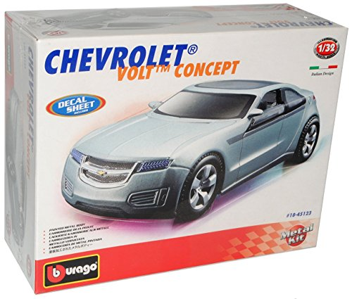 Chevrolet Chevy Volt Concept Silber Bausatz Kit 1/32 Bburago Modell Auto (Modell Chevy-kits)