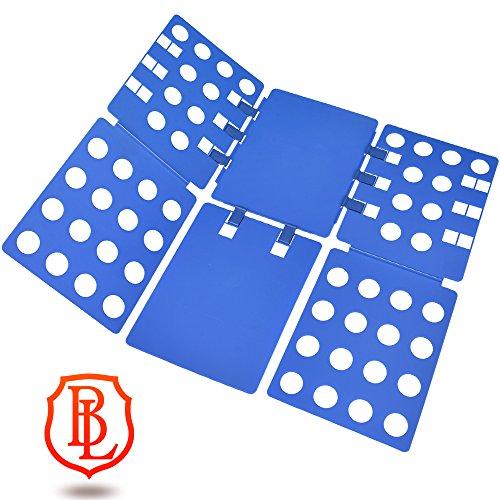 Boxlegend piega abiti piega megliette piega camicie piega vestiti indumenti blu 57 x 70 cm