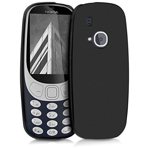kwmobile Nokia 3310 (2017) Hülle - Handyhülle für Nokia 3310 (2017) - Handy Case in Schwarz matt