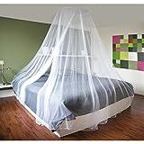 XXL Moskitonetz 60x250x1200cm Fliegennetz Doppelbett