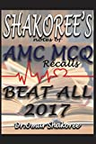 Shakoree's Notes of AMC McQ Recalls Beat All 2017