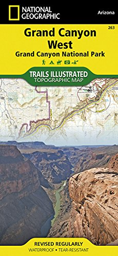 National Geographic Trails Illustrated Map Grand Canyon