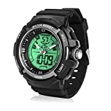 TEKMAGIC Digital Swimming Wrist Sports Watch 100M Water Resistant for Diving with Led