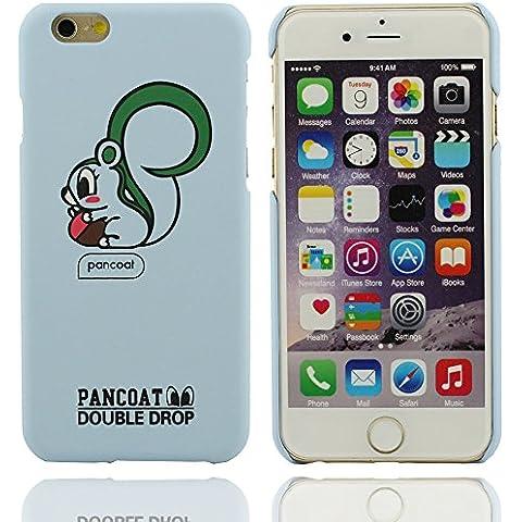 Patrón de diseño único ardilla de dibujos animados tapa dura cubierta de plástico Carcasa protectora case para Apple iPhone 6 plus / 6S plus 5.5