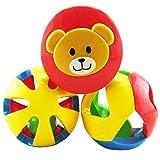 Winkey Toy for Baby kids Boy Girl, 3PCS Safety Baby Toddler Intelligence Hand Shake Bell Funny Educational Bottle Toys