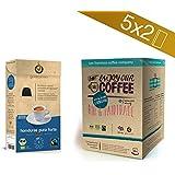 Gourmesso caja Bio & Fairtrade - 100 cápsulas de café compatibles con cafetera Nespresso ®