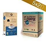 Gourmesso Bio&Fairtrade Box - 100 Nespresso kompatible Kaffeekapseln