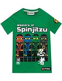 Lego Ninjago Camiseta Para Niño - Lego Ninja Go