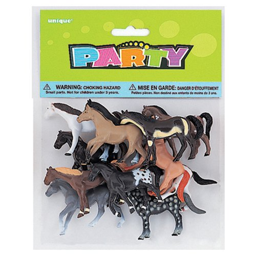 party-america-prancing-horses-favor-pack-10ct