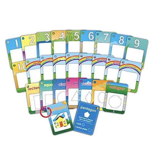 Wasser Malerei Karte, Digitale Karte Magie Reißbrett Muster Graffiti Spielzeug Färbung Bücher für Kinder 26 Teile/satz Zahlen (Färbung Muster Bücher)