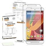 Orzly® - MOTO-G (V2) Prima de cristal templado Protector de pantalla de 0,24 mm protectora para Motorola Moto G 2 (5,5 PULGADAS VERSION)