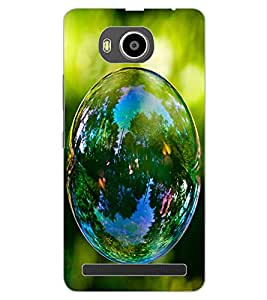 ColourCraft Beautiful Bubble Design Back Case Cover for LENOVO A7700