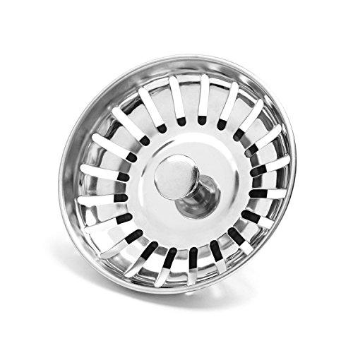 Preisvergleich Produktbild Supmaker doppelten Edelstahl Küche Spüle stemball Siebkörbchen 78 mm