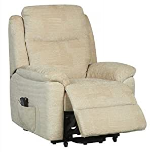 Evesham Fabric Electric Dual Motor Riser Recliner Chair Rise And Recline Armc