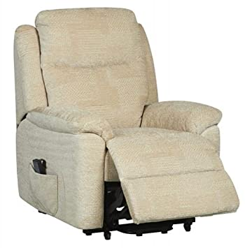 Evesham Fabric Electric Dual Motor Riser Recliner Chair Rise and Recline Armchair - Cream Amazon.co.uk Health u0026 Personal Care  sc 1 st  Amazon UK & Evesham Fabric Electric Dual Motor Riser Recliner Chair Rise and ... islam-shia.org