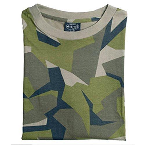 Mil-Tec Leichtes US Army Tarnshirt(Schwedisch Tarn/XXL)