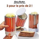 Cookit Easy Butter 3 Buttermühlen zum Preis von 2 ! Orange Original Cook