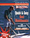 Quick and Easy Boat Maintenance: 1,00...