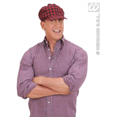 WIDMANN Gorra de cuadros escoceses gorra de golf tapa de The Scotsman