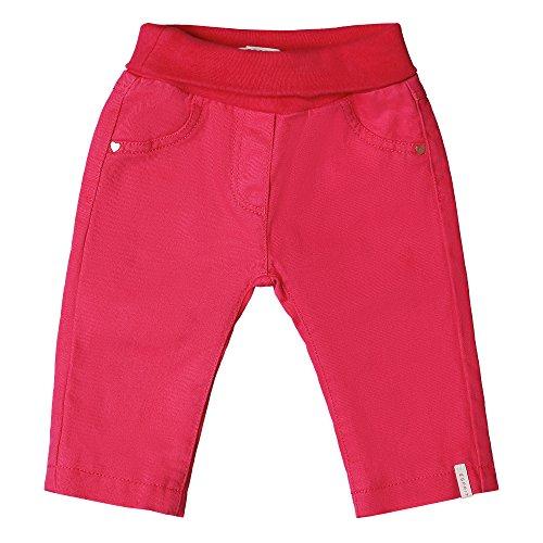 ESPRIT Baby-Mädchen Jeans RK22001, Rosa (Raspberry 393), 62 (Rosa Mädchen-jeans)