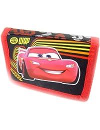 Cars [K4250] - Portefeuille scratch 'Cars' noir rouge