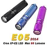 #8: Fenix E05 Keychain LED Flashlight(keychain Torch) 85 Lumen 2015 Model by LightMen THIS IS 85 Lumen Fenix E05 Black Color Keychain Torch
