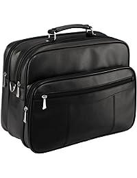 d & n Travel Bags Maletín Messenger de viaje 39 cm negro