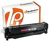 Bubprint Toner kompatibel für HP 305A CE413A für Laserjet Pro 300 Color MFP M375NW M351A Pro 400 Color M451DN M451DW M451NW 2600 Seiten Magenta