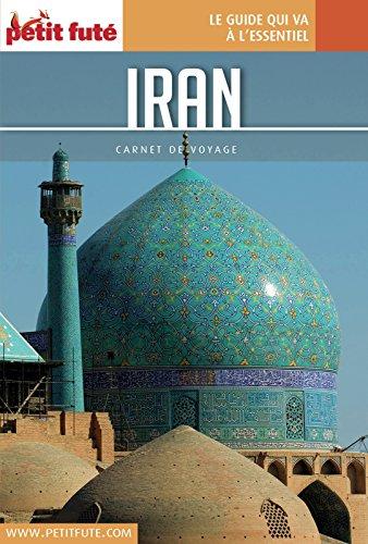 Couverture du livre Iran 2016 Carnet Petit Futé