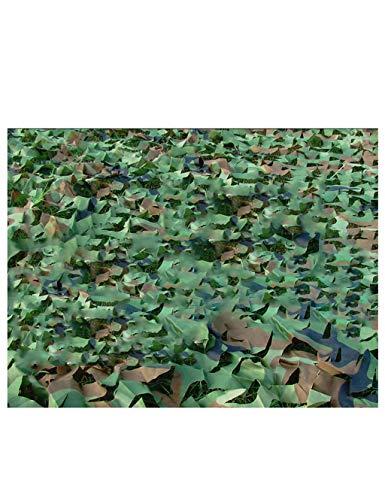 -Tarnung-Netz, Sonnenschirm-Netz-Jagd-bewaffnetes Zelt, im Freien, Thema-Partei-Dekoration, Armee-Art-Tarnungs-Netz und Gitter-Unterstützung ( Color : JUNGLE , Size : 9×10M ) ()