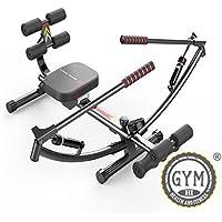 Preisvergleich für sportequipment Gym Rudergerät Rower Glider Workout Fitness Spielen