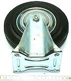 Bock krølle/fijo de ruedas con neumáticos de goma 200 mm, soporta hasta 180 kg