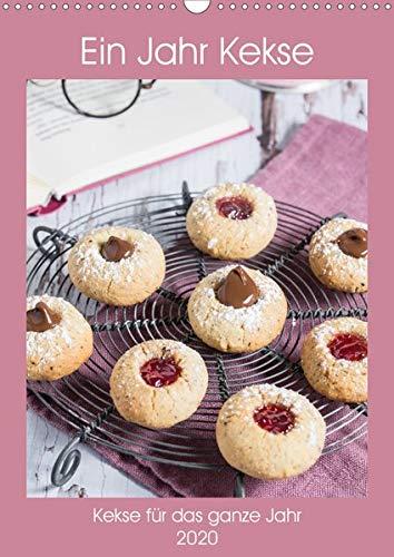 Ein Jahr Kekse (Wandkalender 2020 DIN A3 hoch): Leckere Kekse für das ganze Jahr (Monatskalender, 14 Seiten ) (CALVENDO Lifestyle)