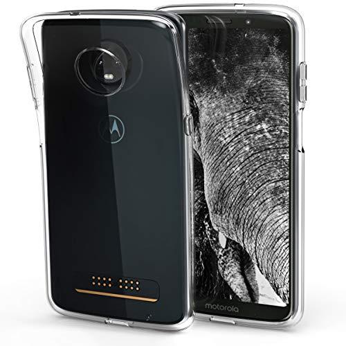 kwmobile Motorola Moto Z3 Play Hülle - Handyhülle für Motorola Moto Z3 Play - Handy Case in Transparent