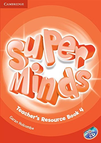 Super Minds  4 Teacher's Resource Book with Audio CD - 9781107693760
