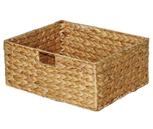 """KMH®, Große Korb-Box \""""Hidalgo\"""" aus geflochtener Wasserhyazinthe (#204036)"""