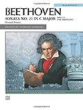 "Beethoven: Sonata No 21 in C Major: """"Waldstein"""" Op. 53 (Alfred Masterwork Editions)"